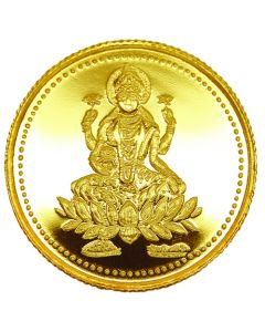5GM Laxmi Gold Coin 916
