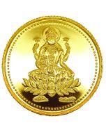 1GM Laxmi Gold Coin 22K 916