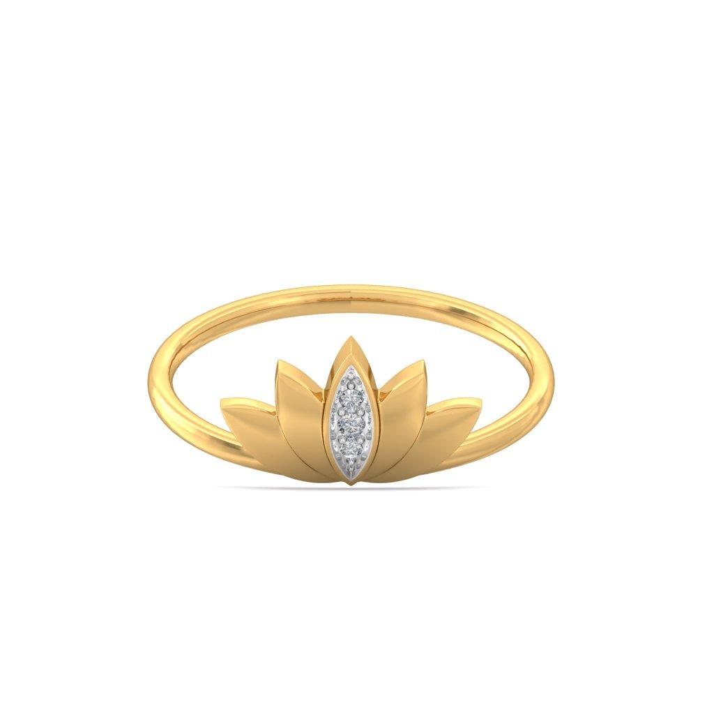 img-Lotus Diamond Petal Ring